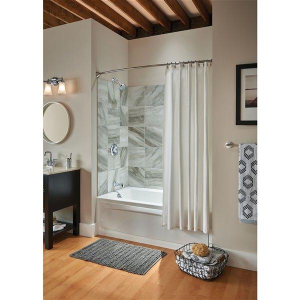 MOEN Eva Chrome Bathroom Vanity Light - 3-Light - Chrome