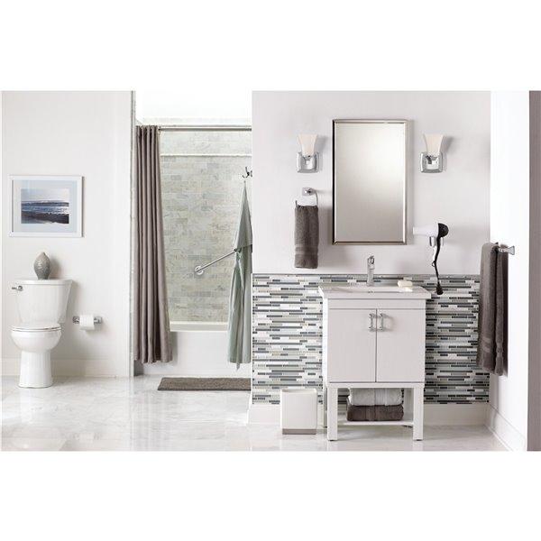 MOEN Voss Chrome Bathroom Vanity Light - 1-Light - Chrome