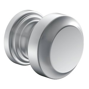 MOEN Rothbury Cabinet and Drawer Knob - Chrome (Valve Sold Separately)