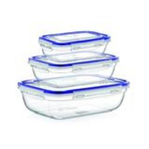 Superio Sealed Food Plastic Container - Set of 3
