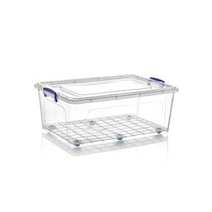 Superio Plastic Storage Box - 58.7-L