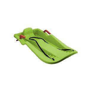 Traîneau à neige avec freins de Superio, vert