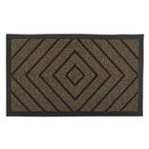 Paillasson rectangulaire de Superio, 17 po x 29 po, brun