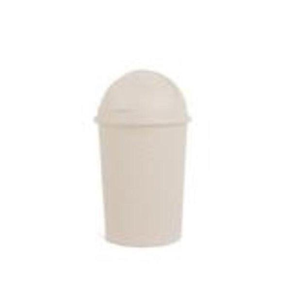 Poubelle à pédale de Superio, 10 L, 26 po, rose pâle