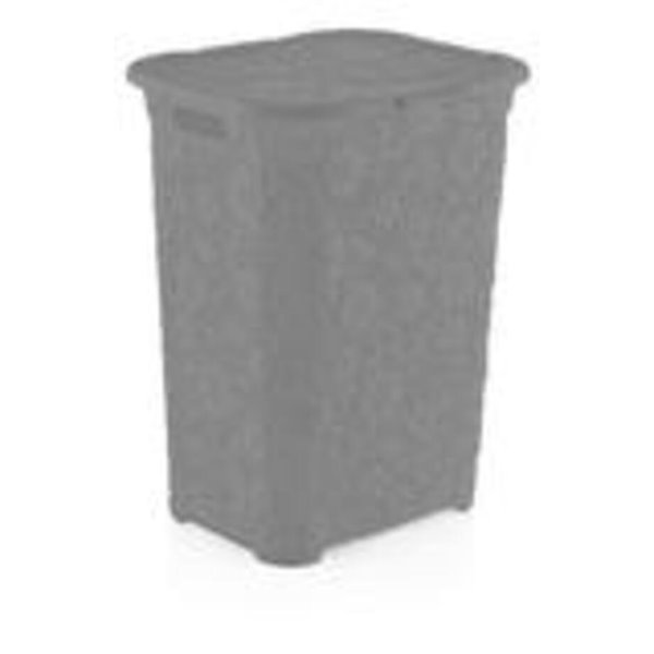 Superio Lace Laundry Hamper - 22-in x 17-in - Grey