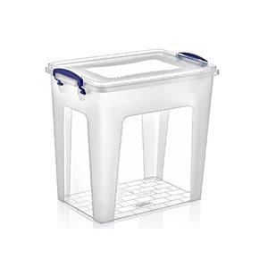 Bac de rangement en plastique de Superio, 10,4 L