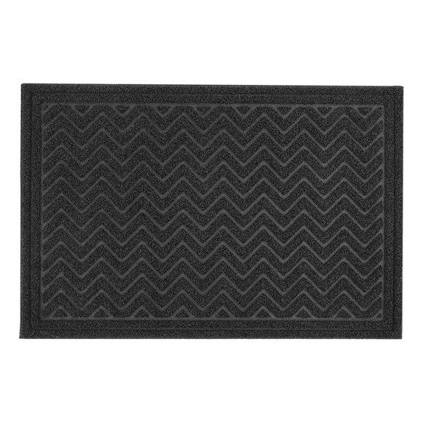 Superio Door Mat - Rectangular - 25-in x 34-in - Black