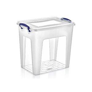 Superio Plastic Storage Box - 18.9-L