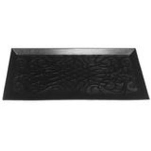 Superio Boot Tray - Rectangular - 13-in x 33-in - Black