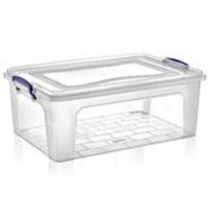 Superio Plastic Storage Box - 19.9-L