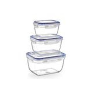 Superio Food Plastic Container - Set of 3