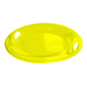 Superio Round Kids Snow Sled - 24-in - Yellow