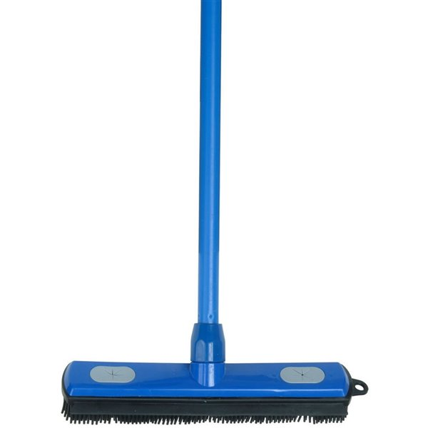 Superio Rubber Broom with Squeegee - 56-in
