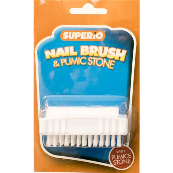 Superio Nail Brush and Pumic Stone