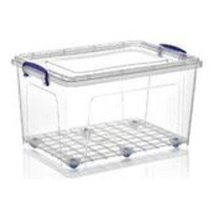 Superio Plastic Storage Box - 41.6-L