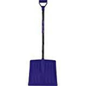 Superio Kids Snow Shovel with Metal Handle - 49-in x 15-in