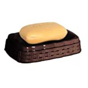 Porte-savon de Superio, brun