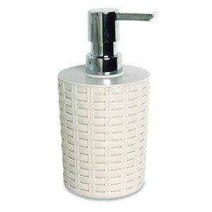 Superio Liquid Soap Dispenser - 7.5-in - Beige