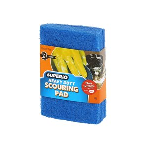 Superio Non-Scratch Scouring Pads - Pack of 3