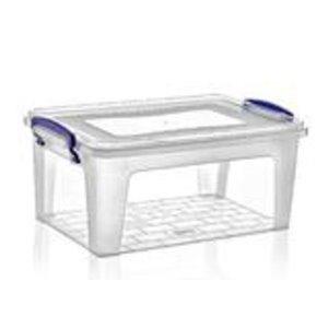 Superio Plastic Storage Box - 8.5-L