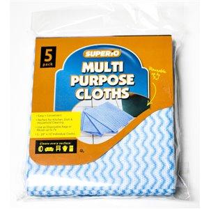 Superio Multipurpose Cloth - Pack of 5