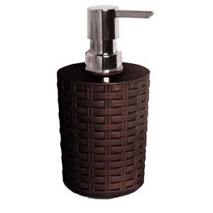Distributeur de savon liquide de Superio, brun