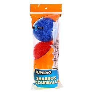 Superio Plastic Scourers - Pack of 3