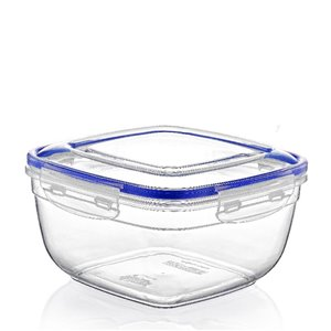 Superio Square Food Plastic Container - 128-oz