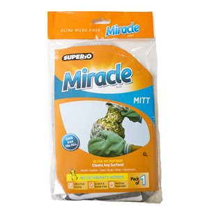 Superio Ultra Microfiber Miracle Cleaning Mitt