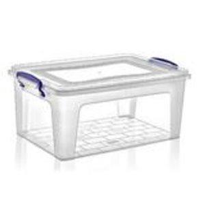 Superio Plastic Storage Box - 15.1-L