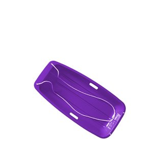 Superio Kids Snow Sled - 48-in - Purple