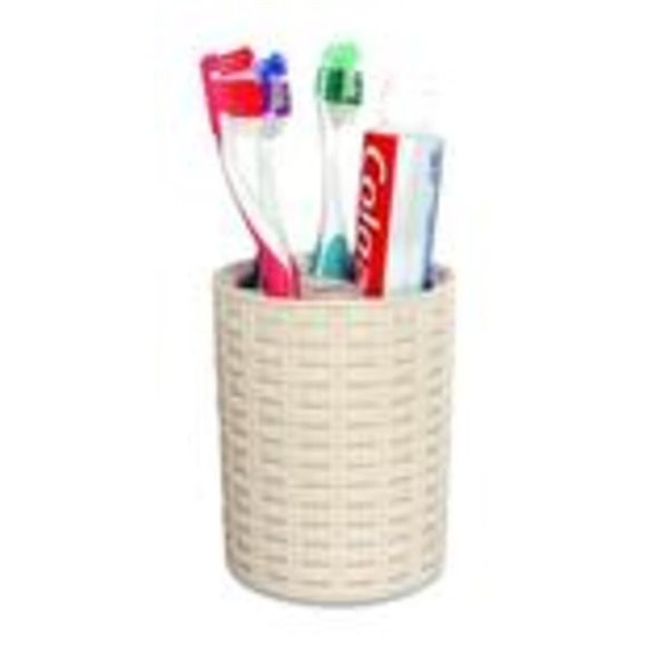 Superio Toothbrush and Toothpaste Holder - Beige