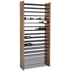 LH Imports Vino Wine Rack - 30.79-in - Brown