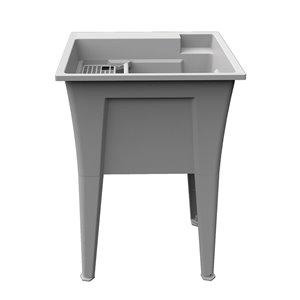 RuggedTub Nova Laundry Sink Heavy-Duty - Granit - 24-in