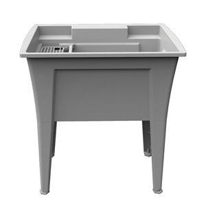 Cuve de lavage Nova RuggedTub, granite, 32 po