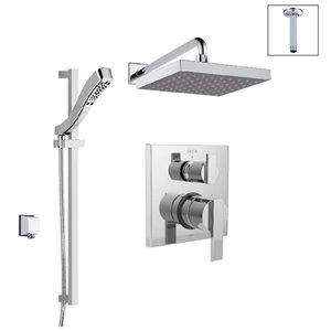 Système de douche avec inverseur intégré Série 14 de DELTA, chrome