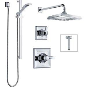 Système de douche Dryden Série 14 de DELTA, chrome