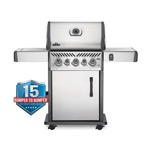 Napoleon Rogue SE 425 Natural Gas Grill - 70,500 BTU - Stainless Steel