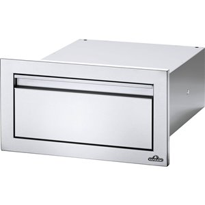 Napoleon Single Drawer for Outdoor Kitchen Cabinet - 18-in x 8-in - Stainless Steel
