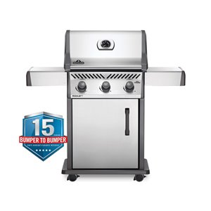 Napoleon Rogue XT 425 Propane Gas Grill - 41,000 BTU - Stainless Steel
