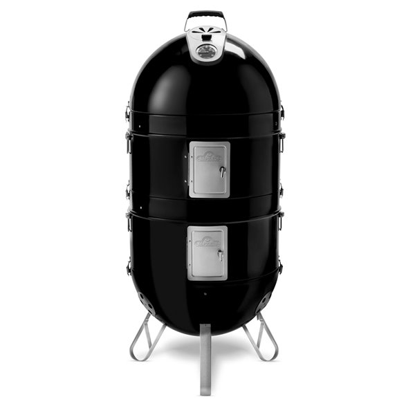 Napoleon Apollo 200 Charcoal Grill and Water Smoker - Black