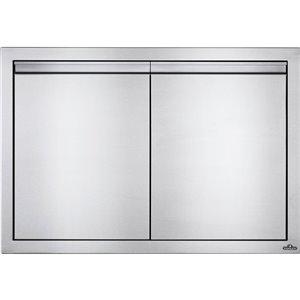 Porte double pour cabinet de cuisine extérieure de Napoleon, 36 po x 24 po, acier inoxydable