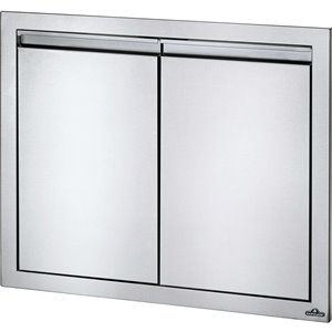 Napoleon Double Door for Outdoor Kitchen Cabinet - 30-in x 24-in - Stainless Steel