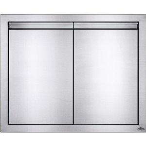Porte double pour cabinet de cuisine extérieure de Napoleon, 30 po x 24 po, acier inoxydable