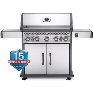 Napoleon Rogue SE 625 Propane Gas Grill - 88,500 BTU - Stainless Steel