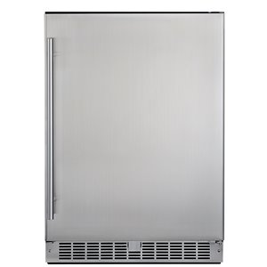 Napoleon Outdoor Rated Fridge - 23.75-in - Stainless Steel