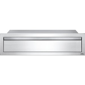 Napoleon Single Drawer for Outdoor Kitchen Cabinet - 42-in x 8-in - Stainless Steel