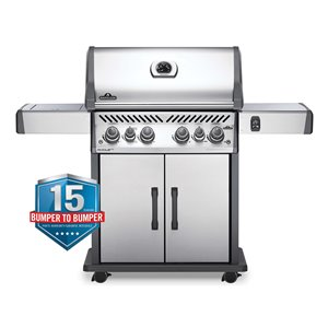 Napoleon Rogue SE 525 Natural Gas Grill - 76,500 BTU - Stainless Steel