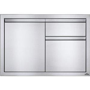 Cabinet pour cuisine extérieure de Napoleon, tiroir à déchets, 36 po x 24 po, acier inoxydable