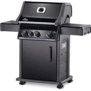 Napoleon Rogue XT 425 Natural Gas Grill with-infrared Side Burner - 51,000 BTU - Black